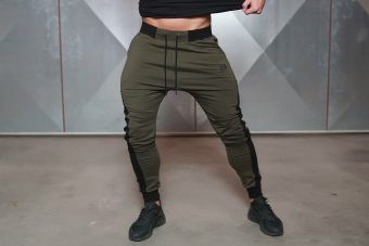 NERI Joggers - ARMY green
