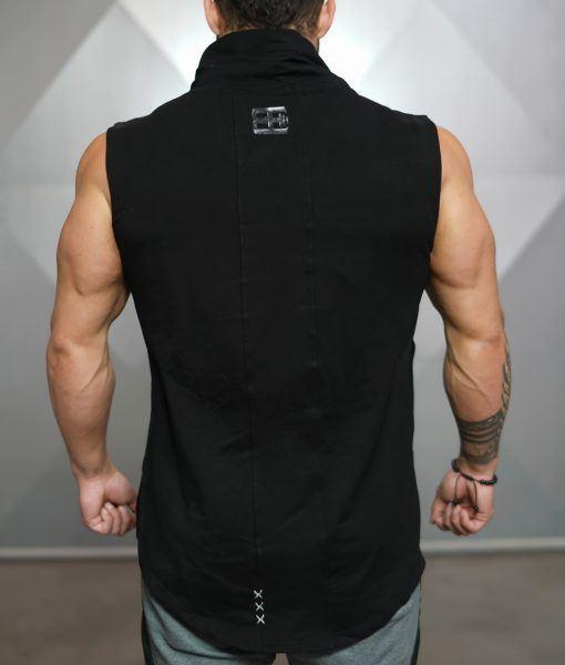 NERI sleeveless vest Black