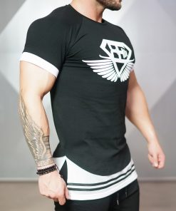 NOX lifestyle shirt - Black & White