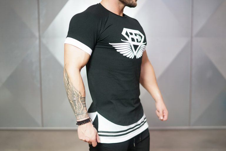 NOX lifestyle shirt - Black & White