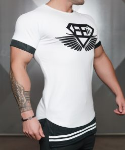 NOX lifestyle shirt - White & Black Inverse