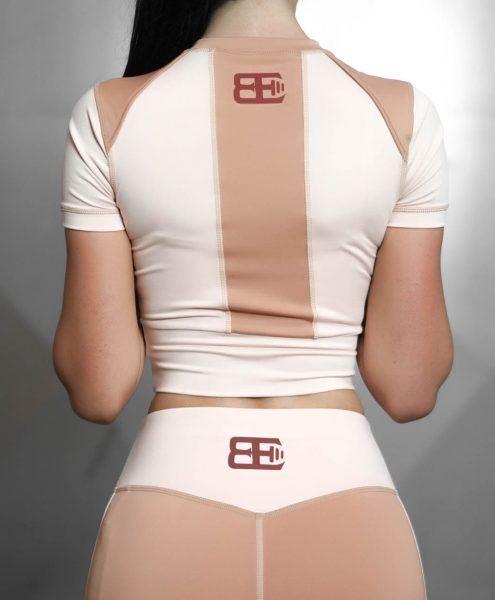 SELENE Crop Top - Nude