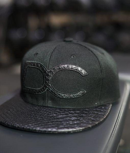 Dream Chaser Snapback - BLACK REPTILE