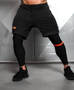 Demon Performance Bottom - Black & Dutch Orange