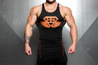 RYU Performance Stringer - Black & Dutch Orange