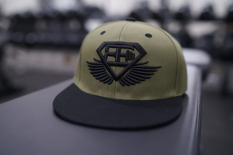 BE Snapback - Olive Green