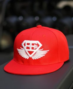 BE Snapback - Flame Red