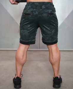 XA1 SwimX shorts - Gun Metal Camo