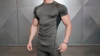 VENTUS Short sleeve Top - Army Green