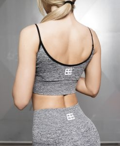 Valkyrie Seamless Sports Bra - Black