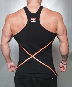 XA1 stringer - Black & Dutch Orange